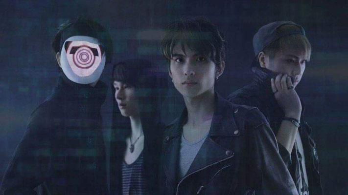 """November 2015, Look zu """"Wake Up Your Fire""""; von links nach rechts: Hiroto, Ray, Arata, Reiji"""