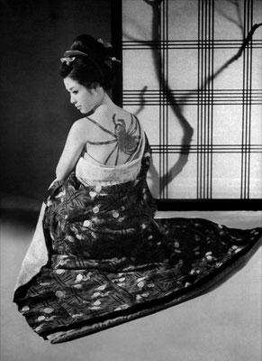 """Wakao Ayako in Masumuras Film """"Irezumi"""" von 1966"""