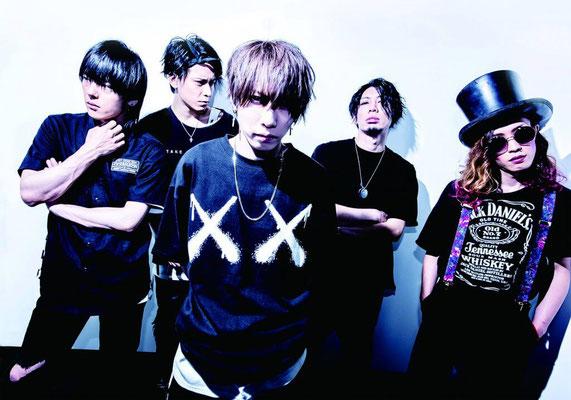 Dezember 2018; von links nach rechts: Zero, Hiyuu, Yuuki, Ichirou, Satoshi