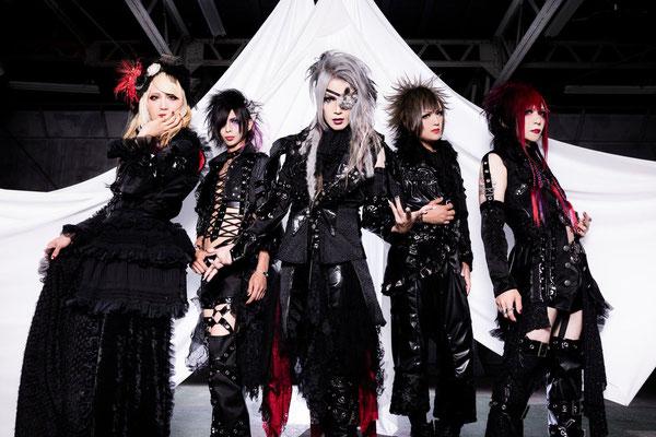 September 2018; von links nach rechts: Rin, Shian, Kakeru, Yo-hey, You.