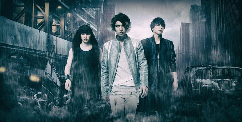 Dezember 2017; von links nach rechts: Ray, Arata, Reiji