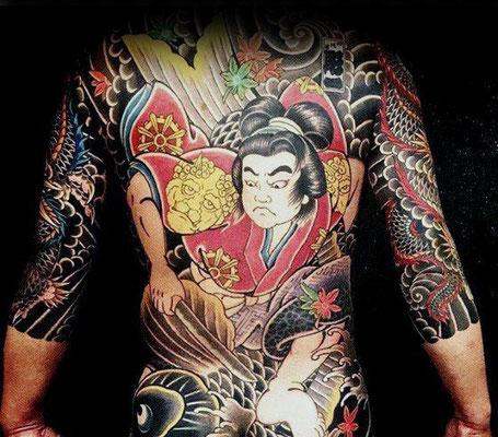 traditionelle japanische tattoos