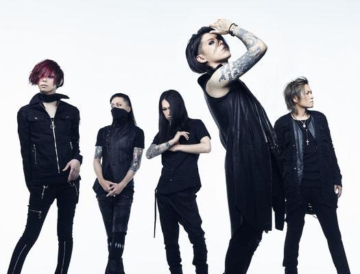 "Juli 2016: Look zu ""Avantgarde""; von links nach rechts: Yusuke, Asanao, Akinori, Hazuki, Reo"