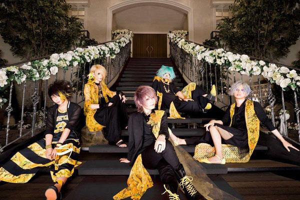 August 2017; von links nach rechts: LiN, Haku, Yui, Shiina Mio, Sana