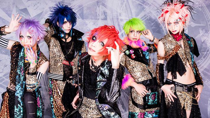 Juli 2017; von links nach rechts: An, Shiori, Rui, Kazuki, yuiha