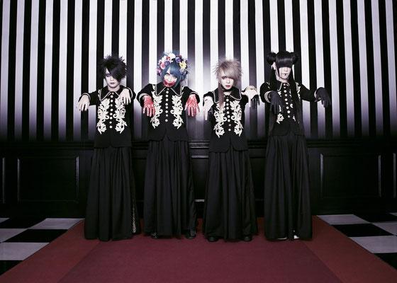 Februar 2018; von links nach rechts: REIKA, Aoi Midori, Kanata, Shou