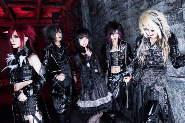 Februar 2018; von links nach rechts: You., Yo-hey, Raizo, Shian, Kakeru