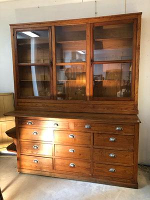 meuble de métier, antiquités brocante, meuble de pharmacie