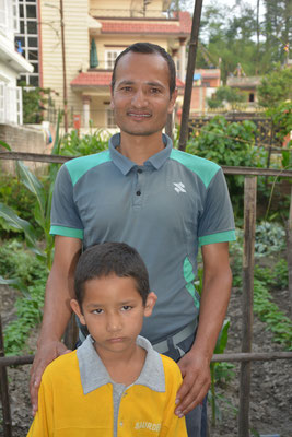Utshav and his father