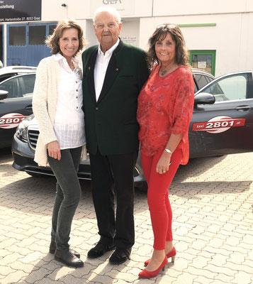 Barbara Jöllinger, Eduard Hatzl sen. und Karin Leitner