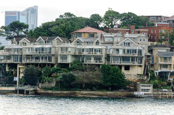Sydney vom Wasser