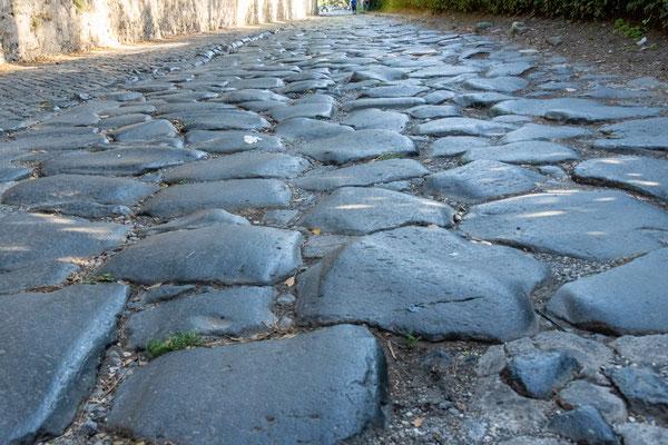 Via Appia antica historisches Pflaster