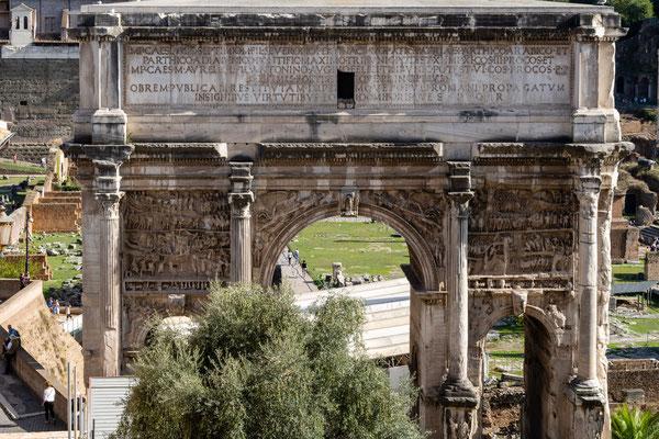 Forum Romanum (Septimius-Severus-Bogen)