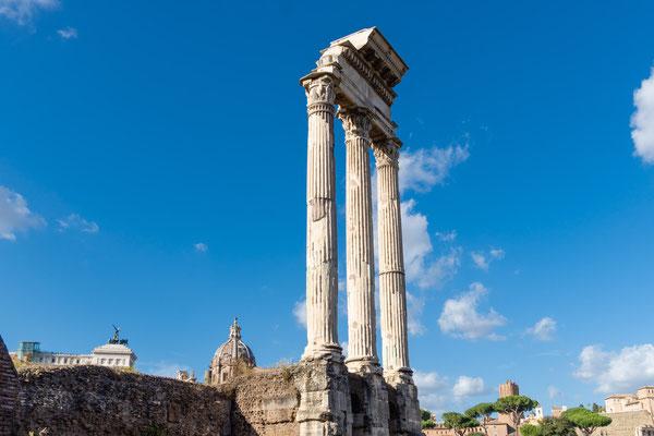 Forum Romanum (Tempel von Castor und Pollux)
