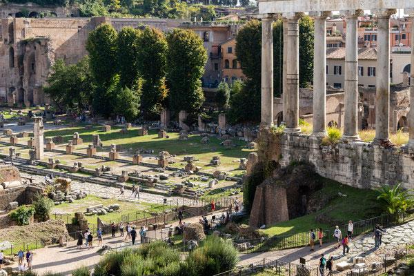 Forum Romanum (Tempel des Satiurn)
