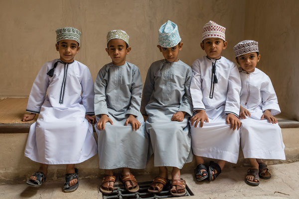 Kinder des Oman (in der Festung Hisn Tamha)