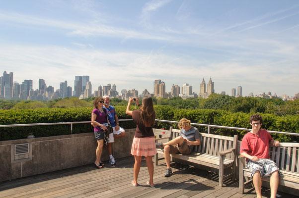 Blick vom Metropolitan Museum of Art auf den Central Park