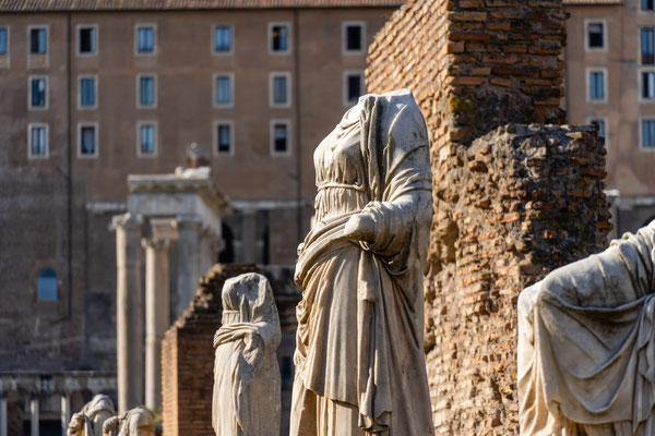 Forum Romanum, Haus der Vestalinnen