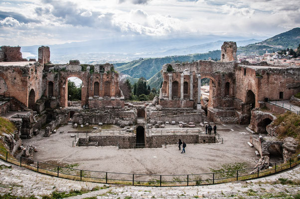 Antikes Theater auf Taormina