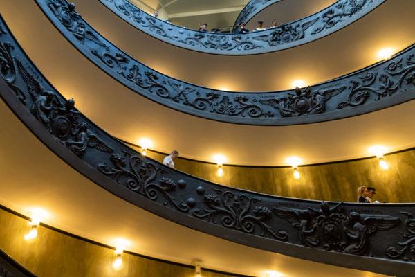 In dem vatikanischen Museum