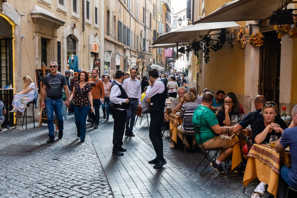 Straßen von Rom