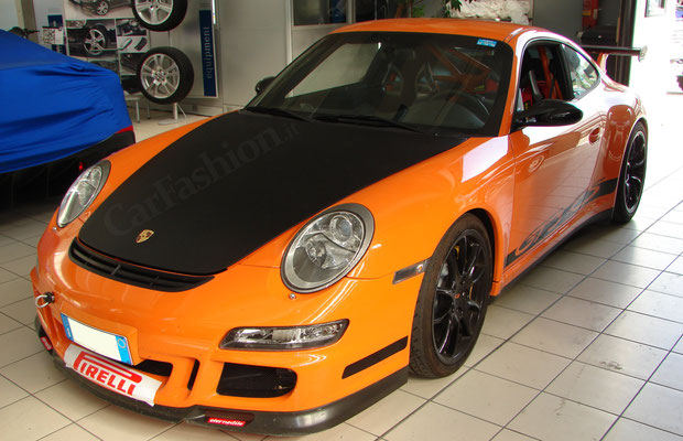 Porsche GT3 RS 997 - Wrapping parziale