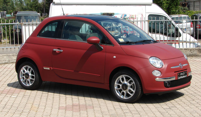 Fiat 500 - Wrapping integrale