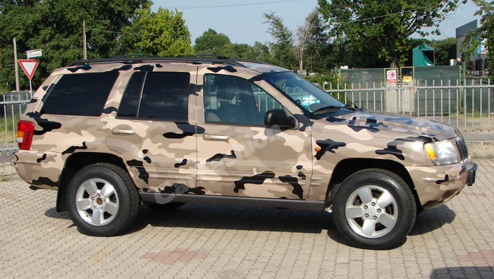 Jeep Grand Cherokee - Wrapping integrale - Desert Camo