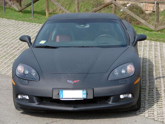 Chevrolet Corvette - Wrapping completo carbonio