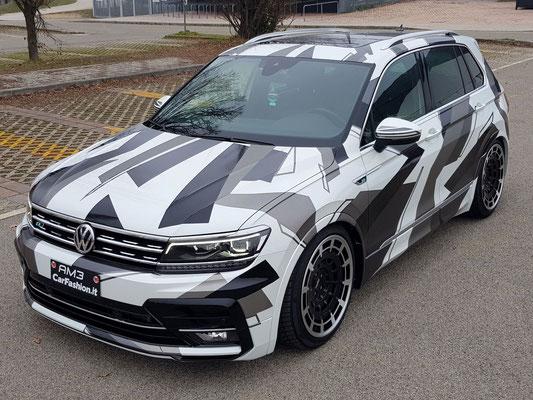 Volkswagen Tiguan - Urban camouflage - Decorazione