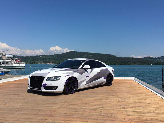 Audi A5 - Wrapping integrale