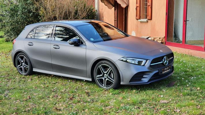 Mercedes Classe A - Wrapping completo grigio perlato opaco
