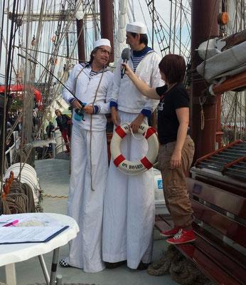 Katharina Guleikoff Moderatorin Sprecherin Journalistin Wilhelmshaven Sailing Cup