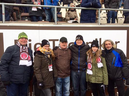 Jürij, Vanessa, Thomas, Torsten, Diana und Eduard