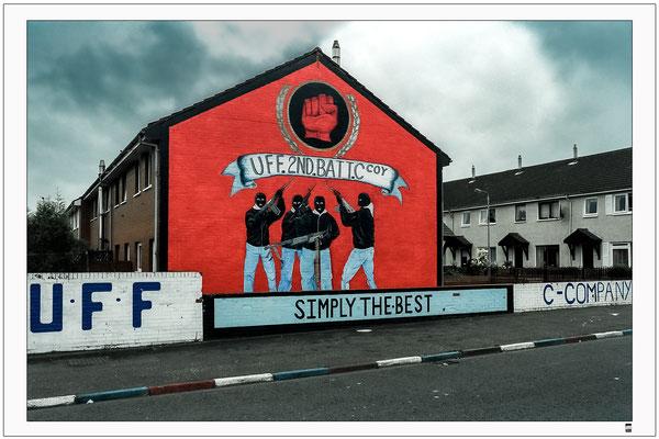Hauswand. Belfast
