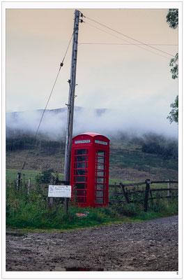 Telefonzelle. Wales
