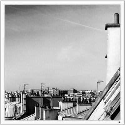 Über den Dächern. Paris