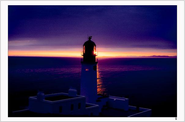 Leuchtturm.  Westküste Schottland