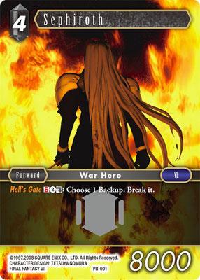 Sephiroth PR-001   Original