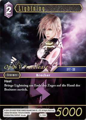 Lightning 5-116H | PR-027