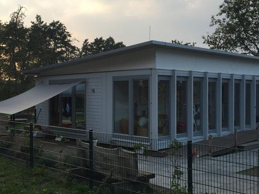 Kindergarten Zusatzgebäude Seitenansicht