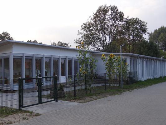 Kindergarten Zusatzgebäude Vorderansicht