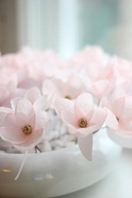 Kleine Tischblumen