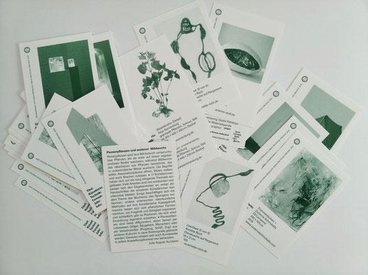 36teiliger Katalog im Spielkartenformat  / catálogo que consiste en 36 tarjetas