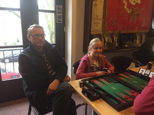 Jan Cerny und Tochter