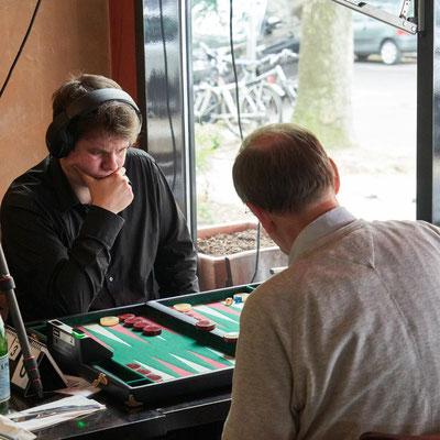 3. Platz Marcel gegen den Berliner Spitzenspieler Ralf