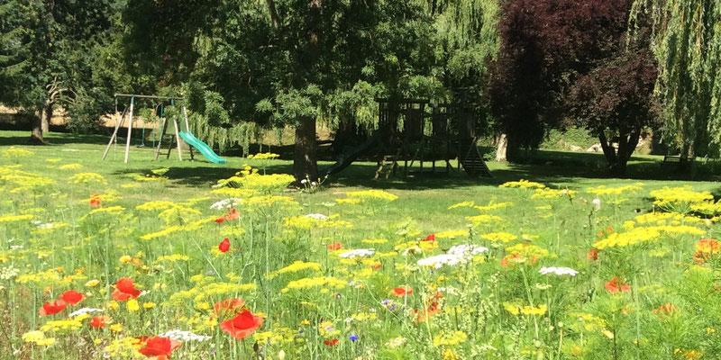 Le parc fleuri
