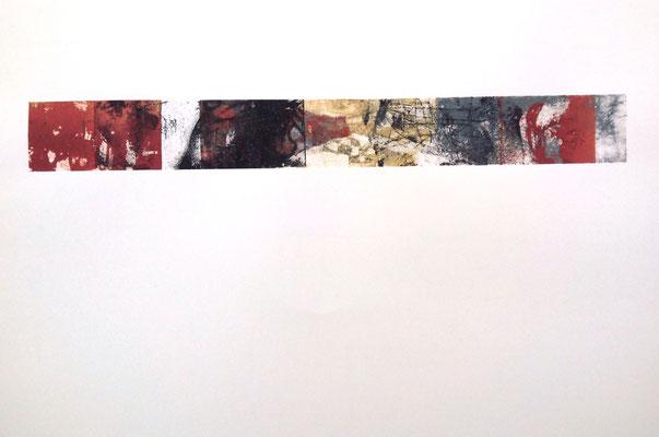 Ohne Titel/ untitled/ Lithografie/lithography/ P: 50x70cm, D:7x60cm/ 2016