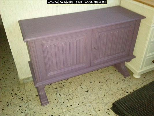 Kommode, Chalk Paint, Kreidefarbe, glatt streichen, Möbelstück richten, DIY, Anleitung, Selber machen, Annie Sloan, alte Kommode