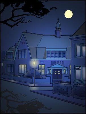 Willem van Oranjeschool nacht